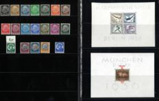German Reich 1933/1937 – Selection of 4 issues – Michel 479/BL10