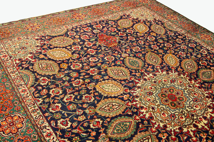 Fine persian carpet tabriz sheikh safi x m hand knotted in iran high quality new wool - Valore tappeto persiano ...