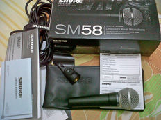 SHURE SM58 - Professional microphone for voice and instruments