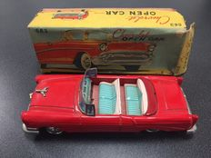Bandai, Japan - Length 24 cm - Tin Chevrolet Open Car No. 563 with friction motor, 1950s