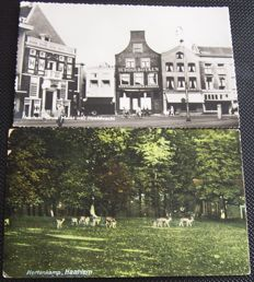 lot of 150 Dutch postcards a lot of the city of Haarlem