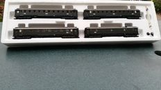 Märklin H0 - 42751 - Set of 4 express train carriages of the DRG