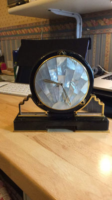 Table clock - Cartier - late 80's early 90's