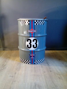 Martini - Racing - Barrel / seat / chair - Metal