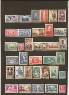 France 1923/1938 - Collection of stamps