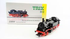 "Trix H0 - 22854 - Heavy tender locomotive BR 74 ""Karlsruhe"" of the DB"