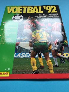 Panini - Voetbal 92 - Dutch league - Complete album.