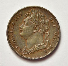 United Kingdom - Farthing 1823 - George IV