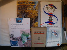 Antilles; Lot with 5 editions - 1938 / 1990