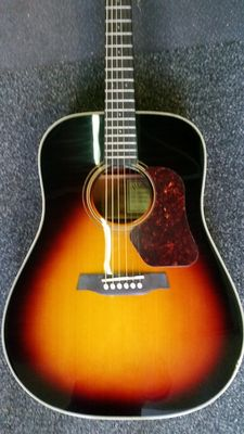 New Walden CD670ETB Concorda Tobacco Burst Limited guitar with padded cover