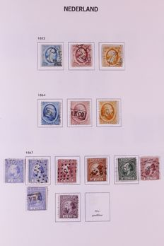 The Netherlands 1852/1969 – Collection in Davo album