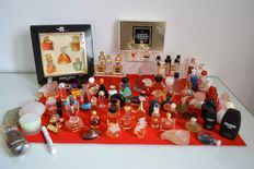 Lot of 70 perfume miniatures and various cacharel and Lancôme, Guerlain, Nina Ricci, Chanel, Dior, Lanvin etc