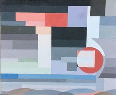 Jos Leonard (after) -  - abstract composition
