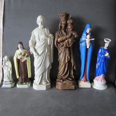 Collection Saints figurines-20th century.