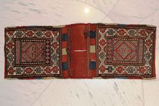 Shahsavan, small saddlebag, late 19th century, approx. 71 x 26 cm.