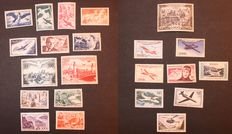 France 1946/1959 – Lot of Airmail