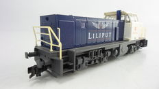 "Liliput H0 - 245400 – Diesel locomotive as special fantasy model MaK ""10 Year Bachmann Europe"" of the Kader Groep"
