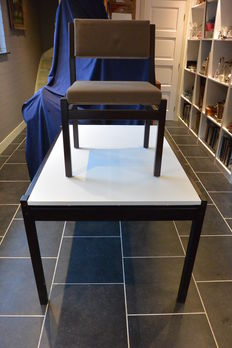 Cees Braakman by Pastoe - chair and extendable table.