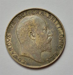 United Kingdom - Shilling  1902 - Edward VII - silver