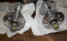 "2x ""Moyeux Sprinter 70"" high flange front hub for bicycle/road bike/track bike - New Old Stock (NOS)"
