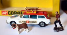 "Corgi Toys - Scale 1/43 - Citroën Safari ""Alpine Rescue Car No.513"