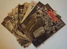 NSDAP; Lot with 9 copies of Adler - 1943 / 1944