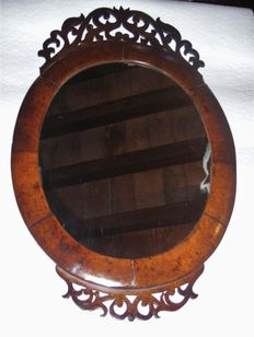 Mirror with carved wooden frame - Italy - end of the 19th century