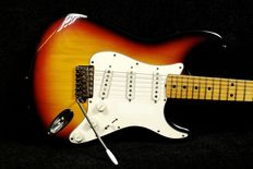 Stratocaster Greco Sunburst - Japan - Early 80's