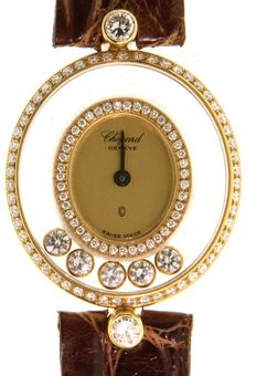 Chopard Happy diamonds with diamonds - Wristwatch  - 20/4305