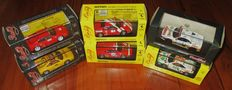 Bang Model - Scale 1/43 - Lot with 6 models: Ferrari 348TB Challenge 1994, Le Mans, F355 Presentazione & F355GTS Pace Car