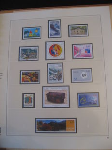 French Andorra 1960/2000 – Stamp collection