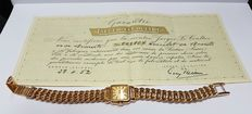 18 k gold ladies wrist watch, Jaeger-Le Coultre from 1952