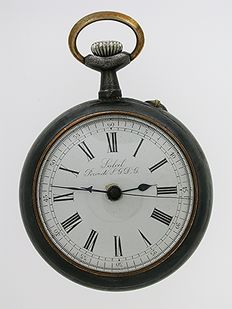 Skeleton Balance Wheel Open Face Pocket Watch Swiss 1900