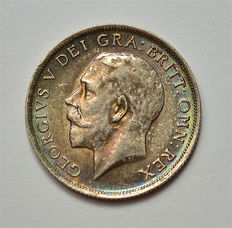 United Kingdom - Shilling  1917 - George V - silver