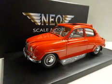 Neo - Scale 1/18 - Saab 96 '1965' - Red
