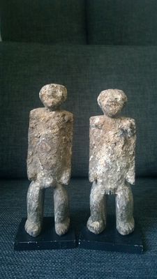 Ancient figurines of twins - LOSSO/LAMBA - Northern Togo