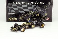 Quartzo - Scale 1/18 - Team Lotus type 72E #2 Italian Grand Prix Winner 1973