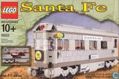 Lego 10022 Santa Fe Cars - Set II (dining, observation, or sleeping car)