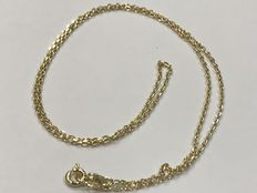 Gold choker – Cable model