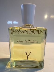 "Giant perfume bottle, Yves Saint Laurent ""Y"""