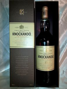 Knockando 25 years Limited Edition Bottled 2011