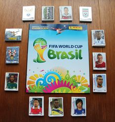 Panini - FIFA World Cup 2014 Brasil - Complete set of 640 stickers + empty album.