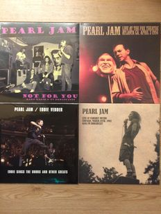 Pearl Jam Live Collection | 4 LP's | Still in sealing