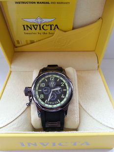 Invicta Russian Diver - Model  1805 - Herenpolshorloge
