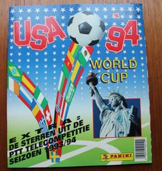 Panini - World Cup USA 94 - NL Edition - complete album.