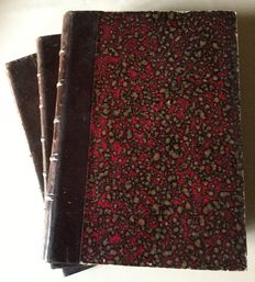 Lot with 3 old books complete opera partitions - early twentieth century