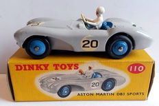 Dinky Toys - Scale 1/43 - Aston Martin DB3 No.110