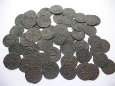 Livonië - Solidus imitations 17th century (48 pieces)