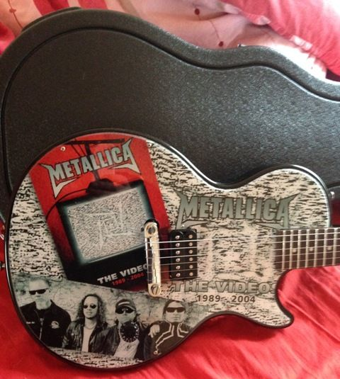 Metallica promo guitar - Epiphone Les Paul Junior - Number 22 of 25!