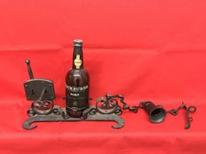 1950s Wine Rack with Padlock - Exclusive